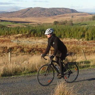 Mountain biking and cycling in Dumfries and Galloway Southern Scotland