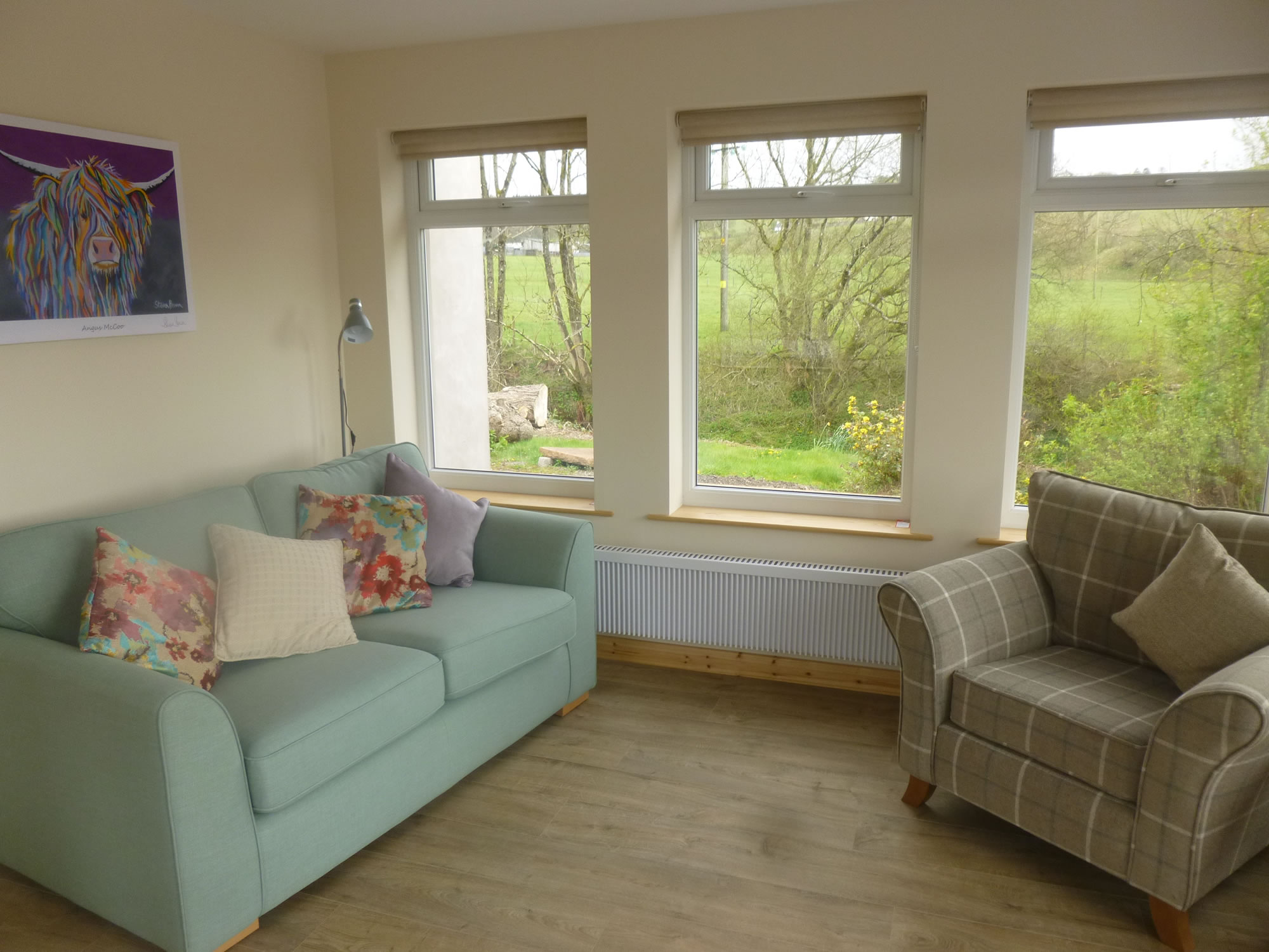 The sunroom of Riverside Holiday Cottage Lockerbie