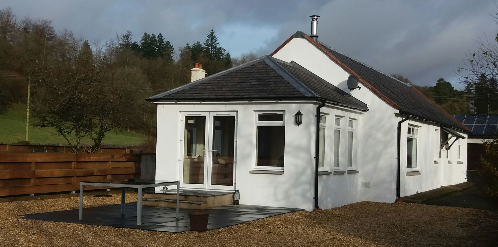 Self catering holiday cottage Dumfries and Galloway, Southern Scotland